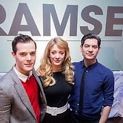 NLD/Amsterdam/20131216 - Persviewing Avro televisieserie Ramses, Thomas Cammaert, Maarten Heijmans en Noortje Herlaar