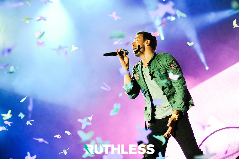 Coldplay at Oxegen 2011