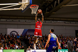 Fred Thomas of Bristol Flyers reaches for the basket - Photo mandatory by-line: Robbie Stephenson/JMP - 29/03/2019 - BASKETBALL - English Institute of Sport - Sheffield, England - Sheffield Sharks v Bristol Flyers - British Basketball League Championship