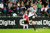 Fotball <br /> 11. september 2011 <br /> Eliteserien <br /> 22. runde Tippeligaen 2011 <br /> Sogndal - Aalesunds Fotballklubb<br /> Fosshaugane Campus, Sogndal<br /> <br /> Foto: Rune Sjøberg, Digitalsport <br /> <br /> Ørjan Hopen, Sogndal