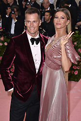 Tom Brady and Gisele Bündchen attend The 2019 Met Gala Celebrating Camp: Notes On Fashion at The Metropolitan Museum of Art on May 06, 2019 in New York City. Photo by Lionel Hahn/ABACAPRESS.COM