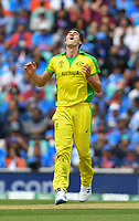 Cricket - 2019 ICC Cricket World Cup - Group Stage: India vs. Australia<br /> <br /> Australia's Pat Cummins, at The Kia Oval.<br /> <br /> COLORSPORT/ASHLEY WESTERN