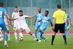 during friendly football match between NK Triglav Kranj and NK Rijeka, on June 24, 2017 in Nogometni stadion Triglav, Kranj, Slovenia. Photo by Matic Klansek Velej / Sportida