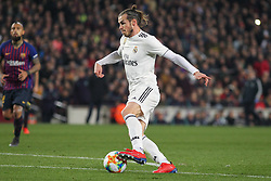 February 6, 2019 - Barcelona, BARCELONA, Spain - Gareth Bale of Real Madrid in action during Spanish King championship, football match between Barcelona and Real Madrid, February 06th, in Camp Nou Stadium in Barcelona, Spain. (Credit Image: © AFP7 via ZUMA Wire)