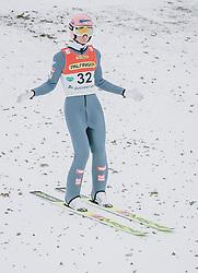 16.02.2020, Kulm, Bad Mitterndorf, AUT, FIS Ski Flug Weltcup, Kulm, Herren, im Bild Daniel Huber (AUT) // Daniel Huber of Austria during his Jump for the men's FIS Ski Flying World Cup at the Kulm in Bad Mitterndorf, Austria on 2020/02/16. EXPA Pictures © 2020, PhotoCredit: EXPA/ Dominik Angerer