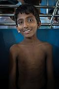 Boy on a Train - Mumbai, India, 2013