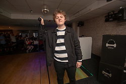 Lewis Capaldi at the Glenmavis Tavern, 51 Gideon St, Bathgate, ahead of his new album release in a pub where he's playing an intimate gig that night - it's also a pub he played as a young, up and coming musician.