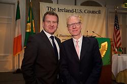 Danny McCoy, Director General of Ibec<br /> Andy Ruane - Irish Channel America