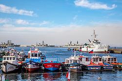 Valparaiso Port & Military Ships