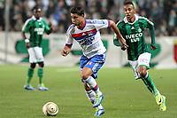FOOTBALL - FRENCH LEAGUE CUP 2011/2012 - 1/8 FINAL - AS SAINT ETIENNE v OLYMPIQUE LYONNAIS - 26/10/2011 - PHOTO EDDY LEMAISTRE / DPPI - EDERSON (OL)