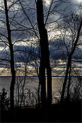 Lake Saint-Jean or Piékouagami is a large lake located in the administrative region of Saguenay-Lac-Saint-Jean, Quebec