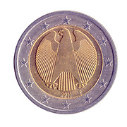 Gold and silver Two Euro coin (Germany)