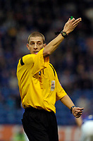 Photo: Leigh Quinnell.<br /> Leicester City v Southampton. Coca Cola Championship.<br /> 05/11/2005. Referee Steve Tanner