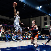 Dec 19, 2018 Moraga, CA  U.S.A. St. Mary's Jordan Ford (3) drives in the paint and scored during the NCAA Men's Basketball game between Bucknell University Bison and the Saint Mary's Gaels 85-56 win at McKeon Pavilion Moraga Calif. Thurman James / CSM