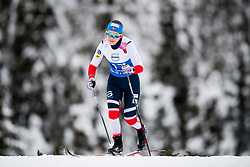 January 11, 2018 - GSbu, NORWAY - 180111 Marte Skaanes competes in the women's sprint classic technique qualification during the Norwegian Championship on January 11, 2018 in GÅ'sbu..Photo: Jon Olav Nesvold / BILDBYRN / kod JE / 160126 (Credit Image: © Jon Olav Nesvold/Bildbyran via ZUMA Wire)