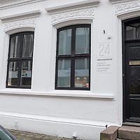 Fasaden på Agder Kunstsenter i Kristiansand.