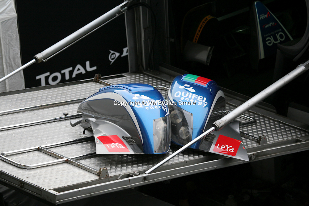 Ginetta-Zytek 09S - Quifel ASM Team Replacement Front Fenders, LMP2 Le Mans 24H 2010