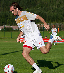 21.07.2010, Sportstadion, Flachau, AUT, Fussball Trainingslager, 1. FSV Mainz05, im Bild Christian Fuchs. EXPA Pictures © 2010, PhotoCredit: EXPA/ J. Groder / SPORTIDA PHOTO AGENCY