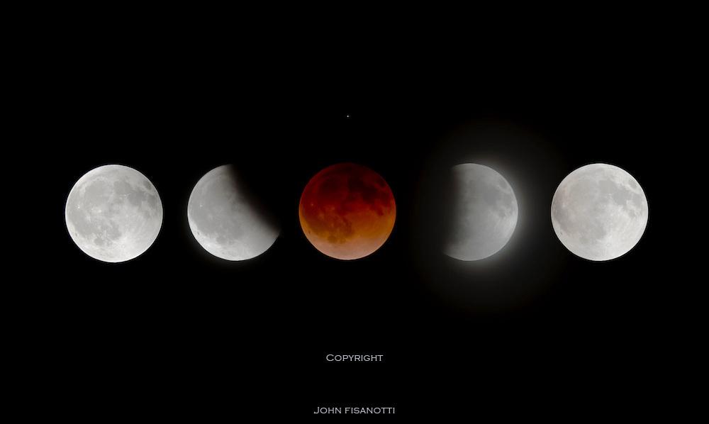 The total lunar eclipse of April 14-15, 2014