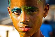 Boy at Minhocão, São Paulo, Brazil, 2011.