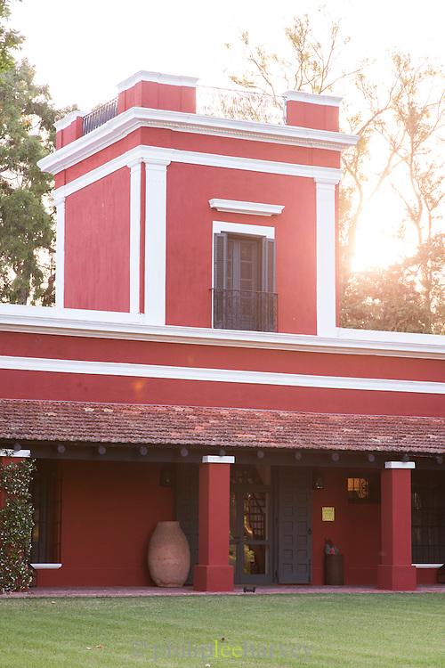 Exterior view of Estancia La Bamba De Areco, Pampas, Argentina, South America