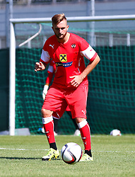 01.09.2015, Ernst Happel Stadion, Wien, AUT, UEFA Euro 2016 Qualifikation, Österreich vs Moldawien, Gruppe G, Training Österreich, im Bild Jakob Jantscher (AUT)// during a training session of Team Austria (AUT) in front of the UEFA European Championship Qualifier Match between Austria (AUT) and Moldova (MDA) at the Ernst Happel Stadion, Vienna, Austria on 2015/09/01. EXPA Pictures © 2015, PhotoCredit: EXPA/ Sebastian Pucher
