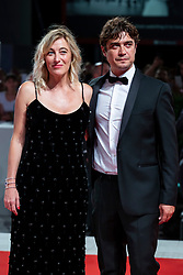 Riccardo Scamarcio and Valeria Bruni Tedeschi walk the red carpet ahead of Les Estivants (The Summer House) screening during the 75th Venice Film Festival at Sala Grande on September 5, 2018 in Venice, Italy. Photo by Marco Piovanotto/ABACAPRESS.COM