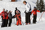 Fotosessie met de koninklijke familie in Lech /// Photoshoot with the Dutch royal family in Lech .<br /> <br /> Op de foto / On the photo: Prins Willem Alexander, Prinses Ariane  ///// Crown Prince Willem Alexander Princess Ariane