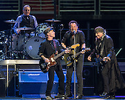 WASHINGTON, DC - January 29th, 2016 -  Max Weinberg, Nils Lofgren, Bruce Springsteen and Steven Van Zandt perform at the Verizon Center during Springsteen's The River 2016 Tour. Springsteen and the E Street Band are performing the seminal 1980 album in full on the tour. (Photo by Kyle Gustafson / For The Washington Post)