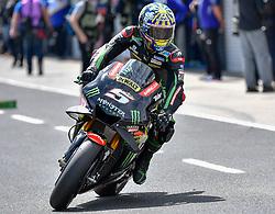 October 26, 2018 - Melbourne, Victoria, Australia - French rider Johan Zarco (#5) of Monster Yamaha Tech 3 leaves his garage during day 2 of the 2018 Australian MotoGP held at Phillip Island, Australia. (Credit Image: © Theo Karanikos/ZUMA Wire)