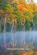 64776-02020 Council Lake in fall color Alger Co.  MI