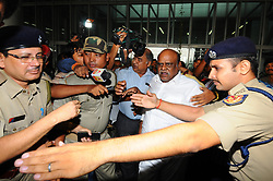 June 21, 2017 - Kolkata, West Bengal, India - Retired judge C S Karnan, who had been absconding since May 9, is arrested by the West Bengal police with the assistance of the Tamil Nadu police from an apartment near Coimbatore, on June 20, 2017. (Credit Image: © Debajyoti Chakraborty/NurPhoto via ZUMA Press)