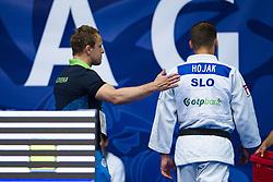 Rok Draksic and HOJAK Martin of Slovenia in the elimination round on July 27, 2019 at the IJF World Tour, Zagreb Grand Prix 2019, in Dom Sportova, Zagreb, Croatia. Photo by SPS / Sportida