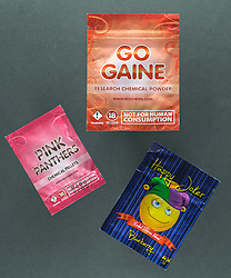 Legal highs including Gogaine, Pink Panthers and Happy Joker