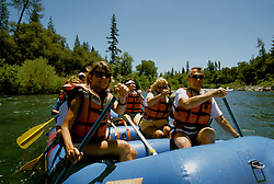 California: Gold Country.  Rafting on the American River..Photo copyright Lee Foster, 510/549-2202, lee@fostertravel.com, www.fostertravel.com..Photo #: cagold106
