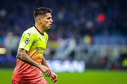 November 6, 2019, Milano, Italy: joão cancelo (manchester city)during Tournament round, group C, Atalanta vs Manchester City, Soccer Champions League Men Championship in Milano, Italy, November 06 2019 - LPS/Fabrizio Carabelli (Credit Image: © Fabrizio Carabelli/LPS via ZUMA Wire)