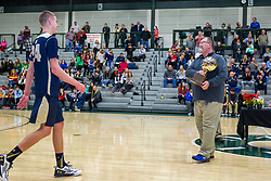 31 December 2015:  2016 State Farm Holiday Classic Small School Boys Championship game between the Bloomington Central Catholic Saints and the Quincy Notre Dame Raiders at Shirk Center in Bloomington Illinois