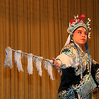 Asia, China, Beijing. Beijing Opera Performer in costume.