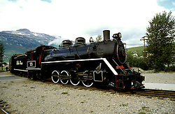AK: Skagway, Alaska, White Pass Yukon Railroad     .Photo Copyright: Lee Foster, lee@fostertravel.com, www.fostertravel.com, (510) 549-2202.Image: akklon207