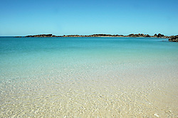 Clear water in the shallows at Lulim Island in Deception Bay on the Kimberley coast.