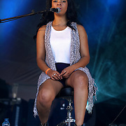 London,England,UK : 17th July 2016 : Billie Marten preforms at the Citadel Festival 2016 at Victoria Park, London,UK. Photo by See Li