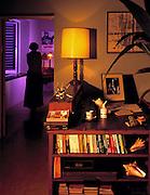 Ian Fleming's desk at Goldeneye - 1976