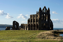 Whitby Abbey Gothic ruined monastery.18 September 2010 .Images © Paul David Drabble