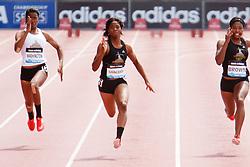 Samsung Diamond League adidas Grand Prix track & field; Dream 100 meters, High School Girls,