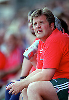 Jan Molby the Kidderminster Manager. Kidderminater Harriers v Torquay United. League Division Three, 12/8/00. Credit Colorsport / Nick Kidd.