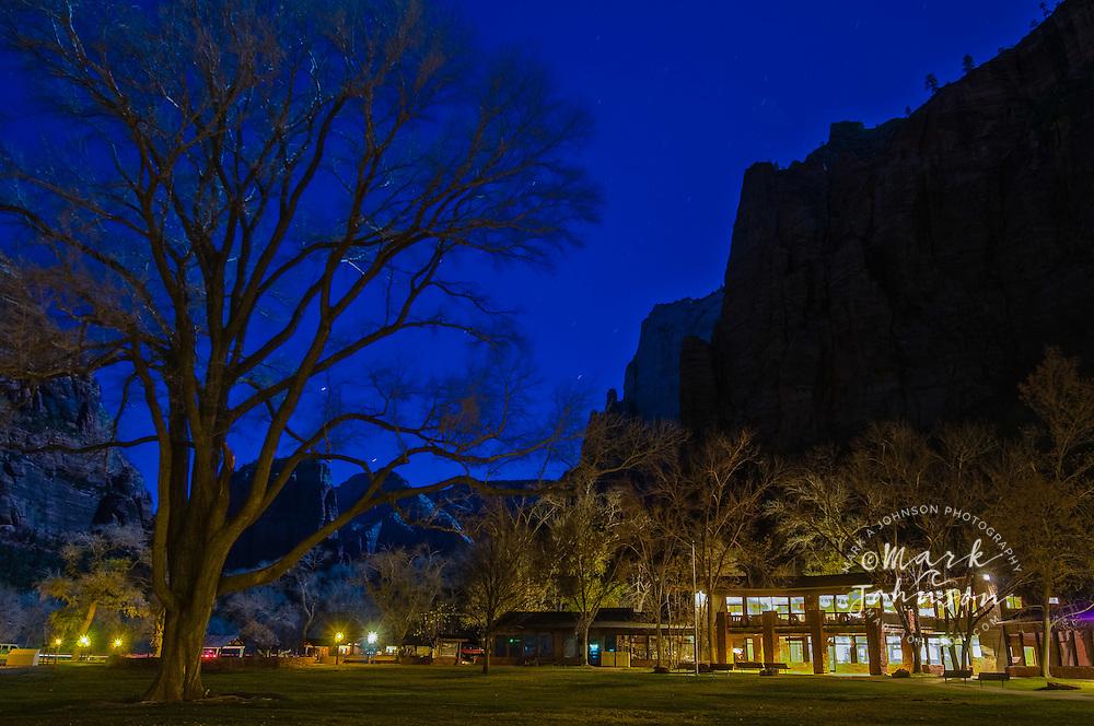 Zion National Park, Utah, USA --- Zion Lodge, Zion National Park