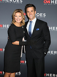 December 9, 2018 - New York City, New York, U.S. - News personalities CHRISTINE ROMANS and JOHN BERMAN attend the 12th Annual CNN Heroes: An All-Star Tribute held at the American Museum of National History. (Credit Image: © Nancy Kaszerman/ZUMA Wire)
