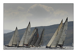 Bell Lawrie Scottish Series 2008. Fine North Easterly winds brought perfect racing conditions in this years event...Class 1 start including IRL2007 Jump Juice,  IRL3939 Antix Elie ( Silk Glove ), GBR51R Argie Bargie