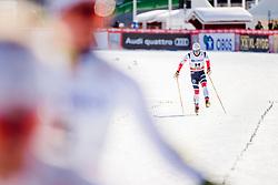 March 16, 2018 - Falun, SVERIGE - 180316 Sindre BjÂ¿rnestad Skar, Norge, deppar efter   semifinalen i sprint under Svenska Skidspelen den 16 mars 2018 i Falun  (Credit Image: © Simon HastegRd/Bildbyran via ZUMA Press)