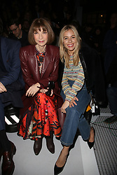 Anna Wintour and Sienna Miller attending the Louis Vuitton show as part of the Paris Fashion Week Womenswear Fall/Winter 2018/2019 held at Le Louvre, in Paris, France, on march 05, 2018, France. Photo by Jerome Domine/ABACAPRESS.COM
